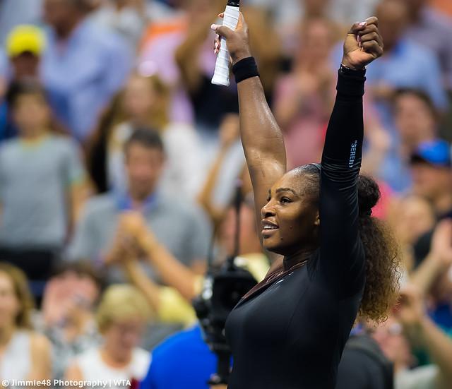 Serena Williams, Nikon D5, AF-S VR Nikkor 300mm f/2.8G IF-ED II
