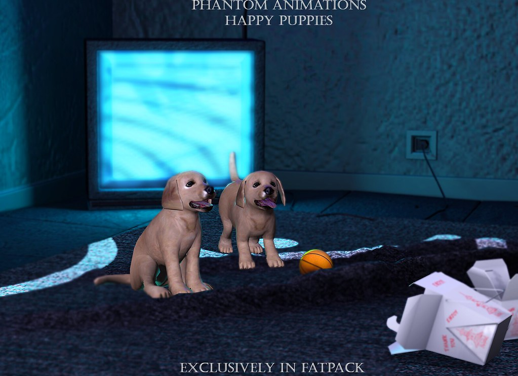 Phantom Animations – Happy Pups Fatpack Exclusive