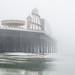 Brighton Place Pier on the mist