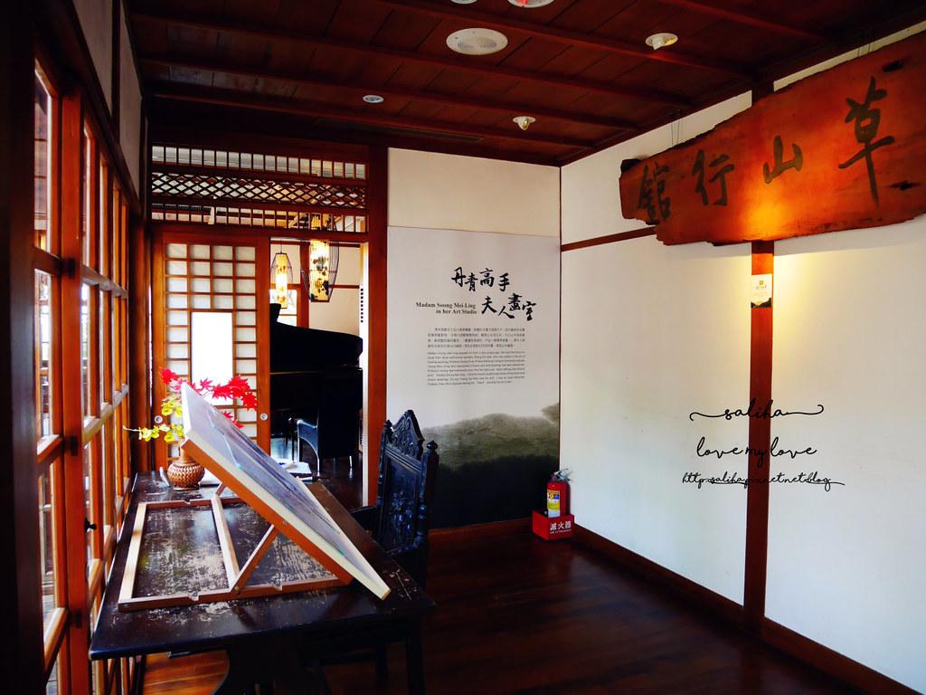 陽明山一日遊景點餐廳推薦草山行館參觀資訊 (6)