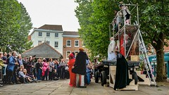 YMPST waggon play performance, St Sampson's Square, 16 September 2018 - 01