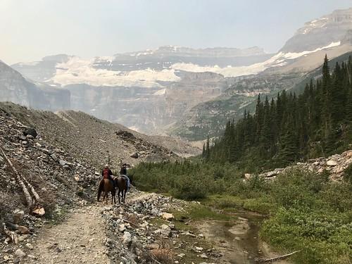 Trail ride, Lake Louise
