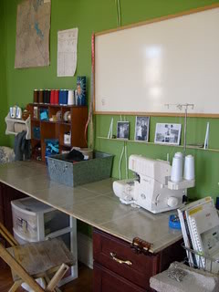 2008 sewing room - Broadway