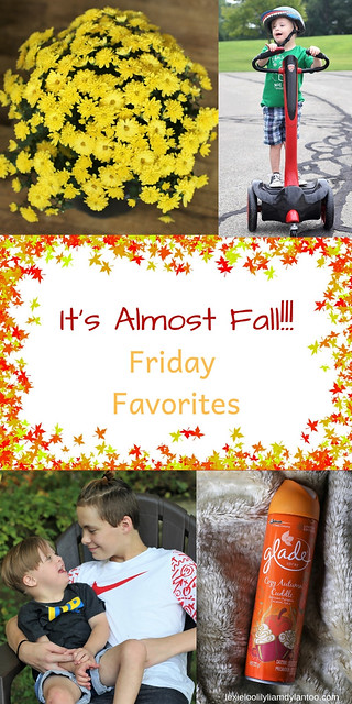 It's Almost Fall! Friday Favorites #momblog #Fall #Downsyndrome #motherhood