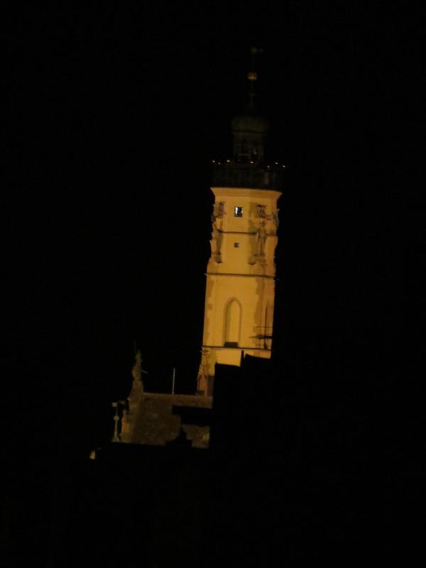Nachtsicht von Wehrgang auf RathausturmIMG_8086
