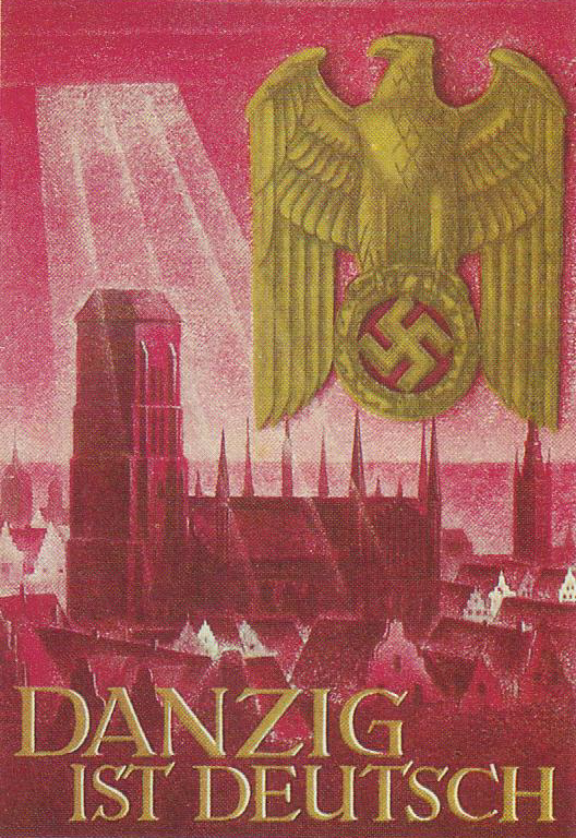 German Nazi propaganda poster: