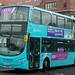 Arriva North East: 7628 YJ61OAY VDL DB300/Wright