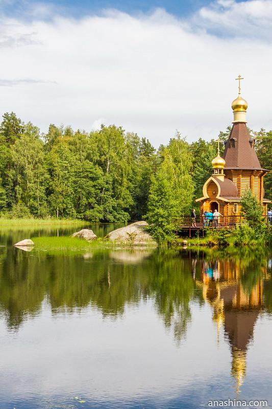 Часовня апостола Андрея Первозванного на Вуоксе, Ленинградская область