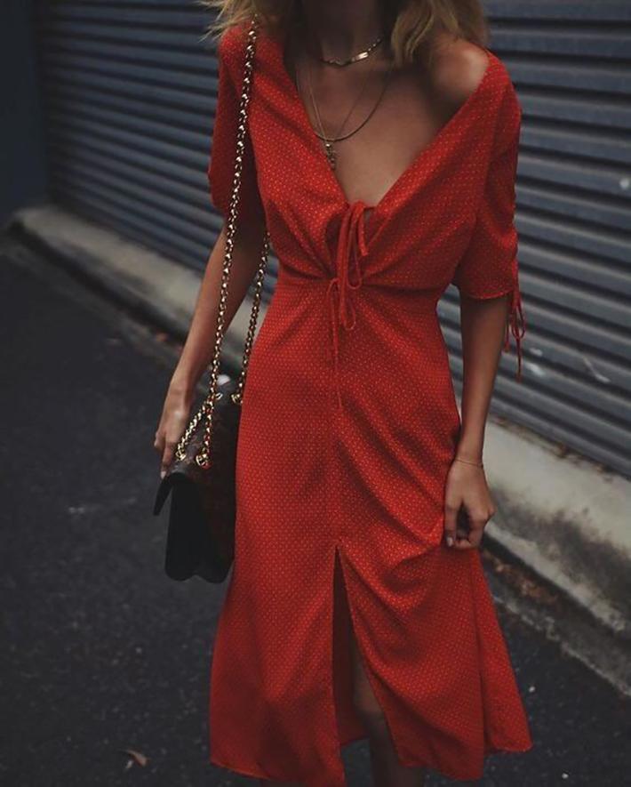 midi dresses midi skirt outfits for this summer trend 2018 style fashion tendencias3