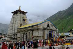 Kedar, the snowy palace of Lord Shiva.