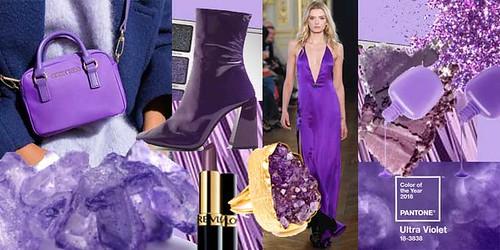 morado tendencia moda 2018