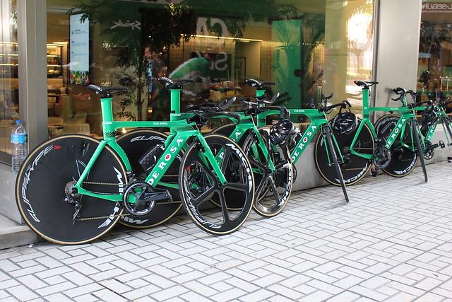 Entrenamiento La Vuelta 2018