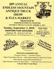 2018 28th Annual  Endless Mountain Antique Truck Show