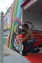 St Petersburg, FL - Grand Central District - Mural - The Garage
