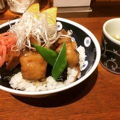mini jitabyodon❤︎ ・ ・ ・ #ミニ #自他平丼 #古民家 #カフェ#蓮月 #池上 #東京 #せご丼 #jitabyodon #donburi #rengetsu #ikegami #tokyo #japan #cafe