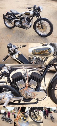 Gilberts SIlls - Rough Superior 750cc - Collage