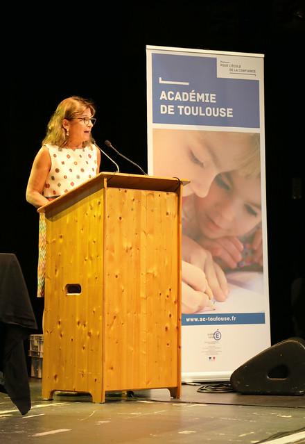 Accueil des professeurs et CPE stagiaires, Phare de Tournefeuille, 28 août 2018