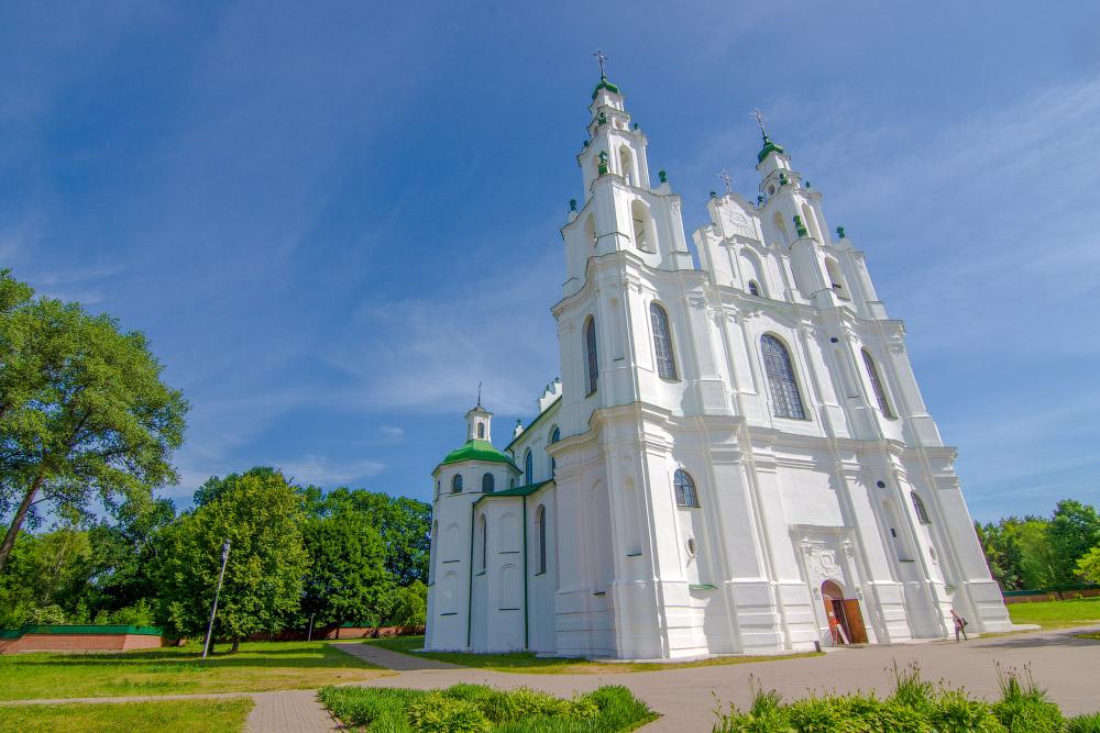 узнать картинка софийский собор полоцк располагается поселке
