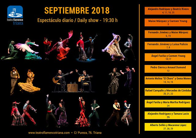 teatro flamenco programacion