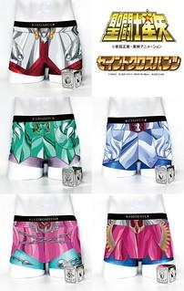 BABY FAZE《聖鬥士星矢》地表最強聖鬥士內褲第三彈「青銅聖衣內褲」(セイントクロスパンツ ブロンズクロス)