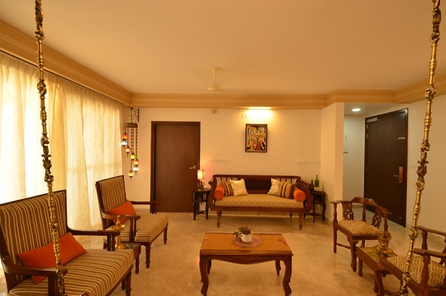 Chettinad style apartment in Bangalore