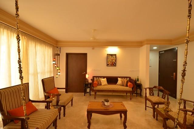 Chettinad style apartment in Bangalore