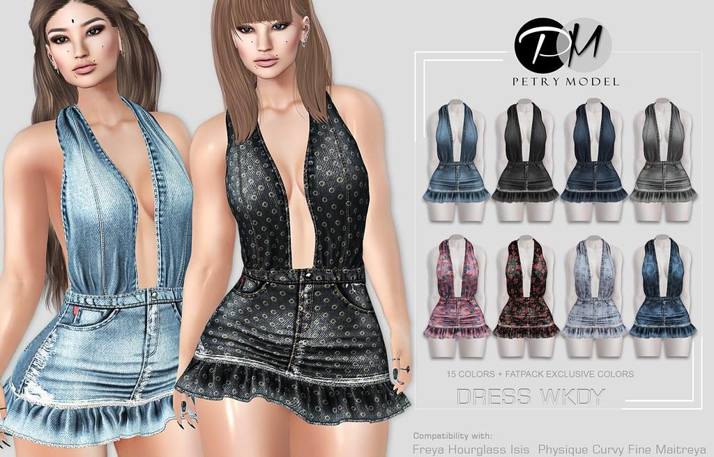 DRESS WKDY  - Petry Model - - TeleportHub.com Live!