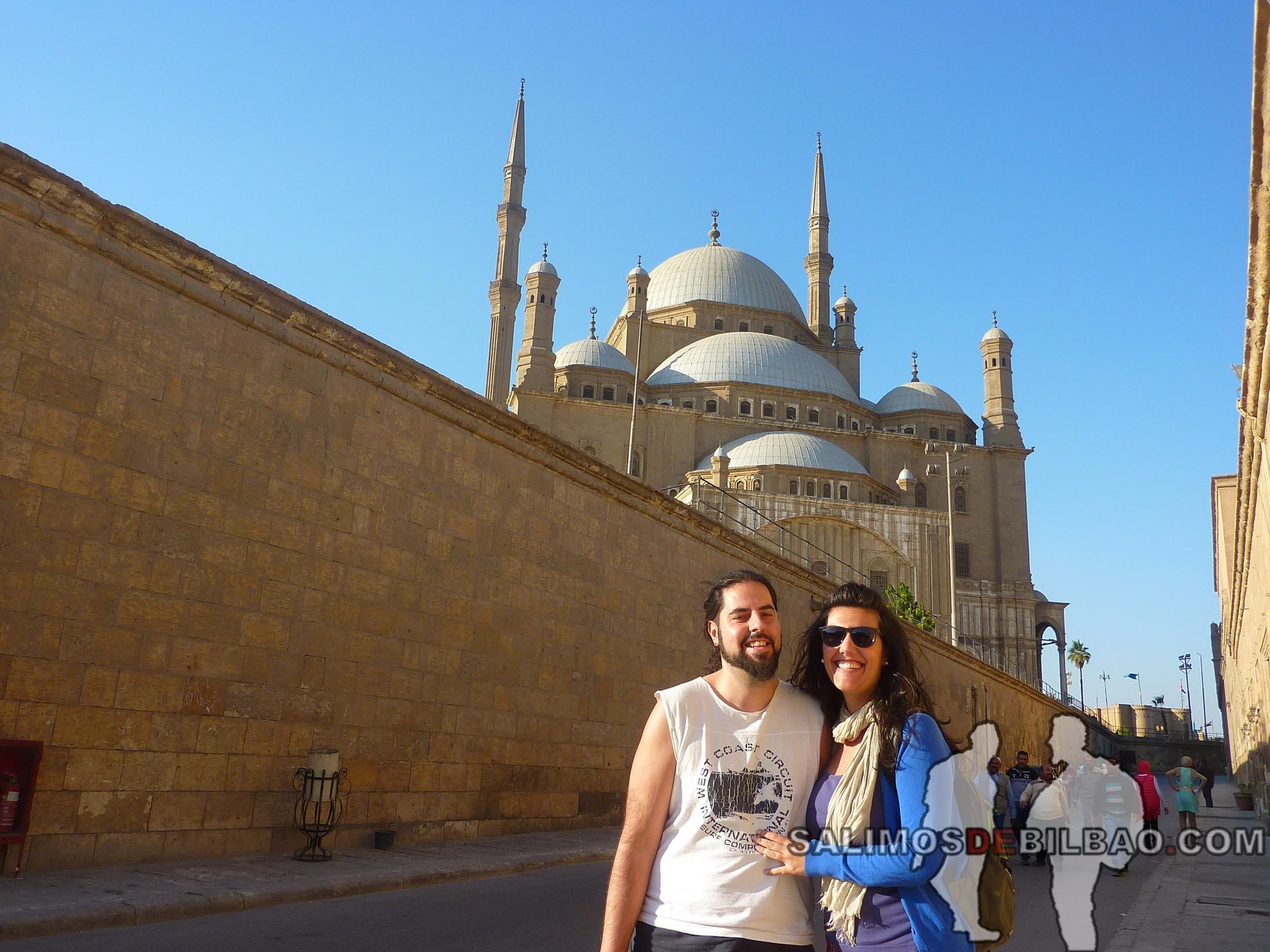 0375. Katz y Saioa, Ciudadela de Saladino, Cairo