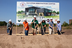 STEM Innovation Center Groundbreaking-89