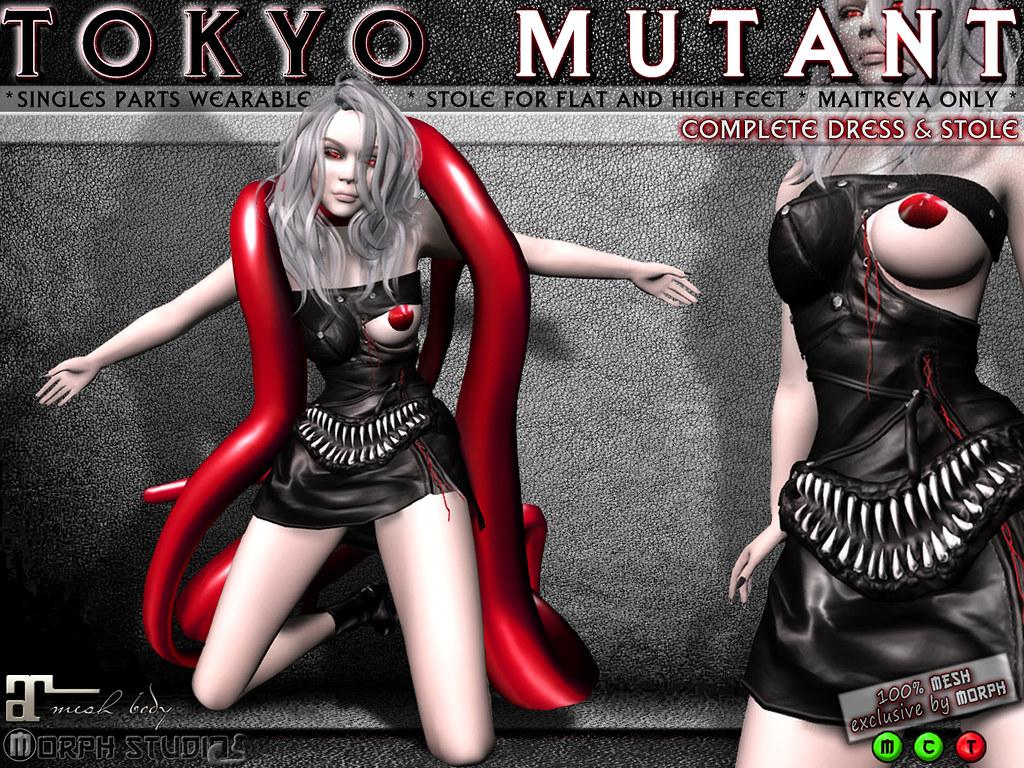 0o Morph Tokyo Mutant complete dress