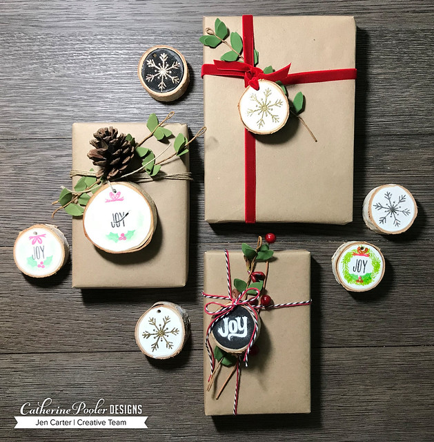 Jen Carter CP Wood Slice Ornaments Group 10 2