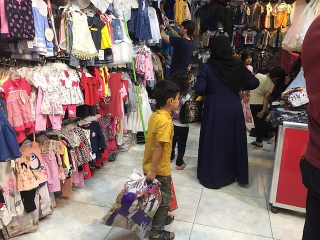 Orphans clothing for Eid