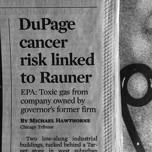 From The Collection of Headlines That Won't Be Saved in Bruce Rauner's Election Year Scrapbook