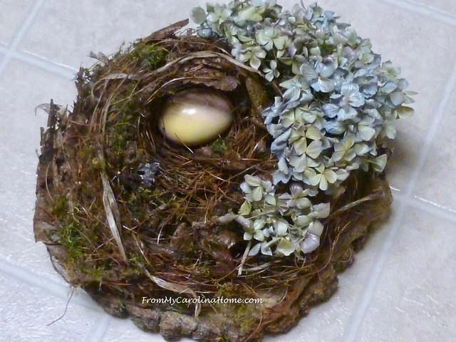 Birdnest Art Project at From My Carolina Home