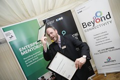 shortlisted for not just one, but two national enterprise support awards by the IOEE