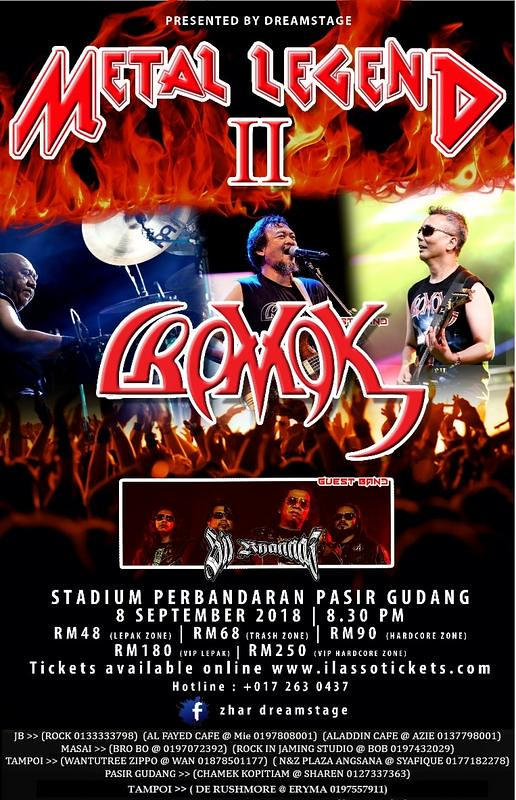 Konsert Metal Legend II