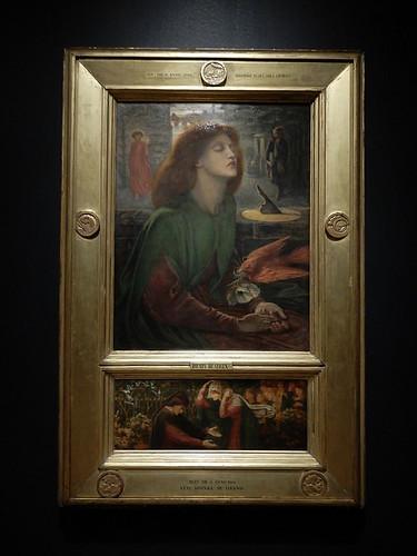 DSCN2655 - Beata Beatrix, Dante Gabriel Rossetti, The Pre-Raphaelites & the Old Masters