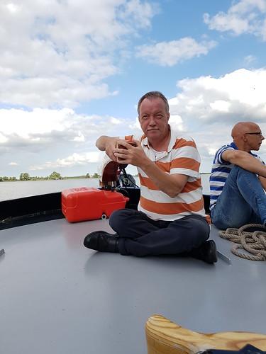Zeilmiddag op de Wijde Ee met het skûtsje van Leeuwarden/Ljouwert