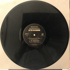 MASTA ACE INCORPORATED:SITTIN' ON CHROME(RECORD SIDE-B)
