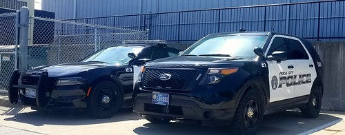 Polk City Police Dodge Charger and Ford Interceptor Utility