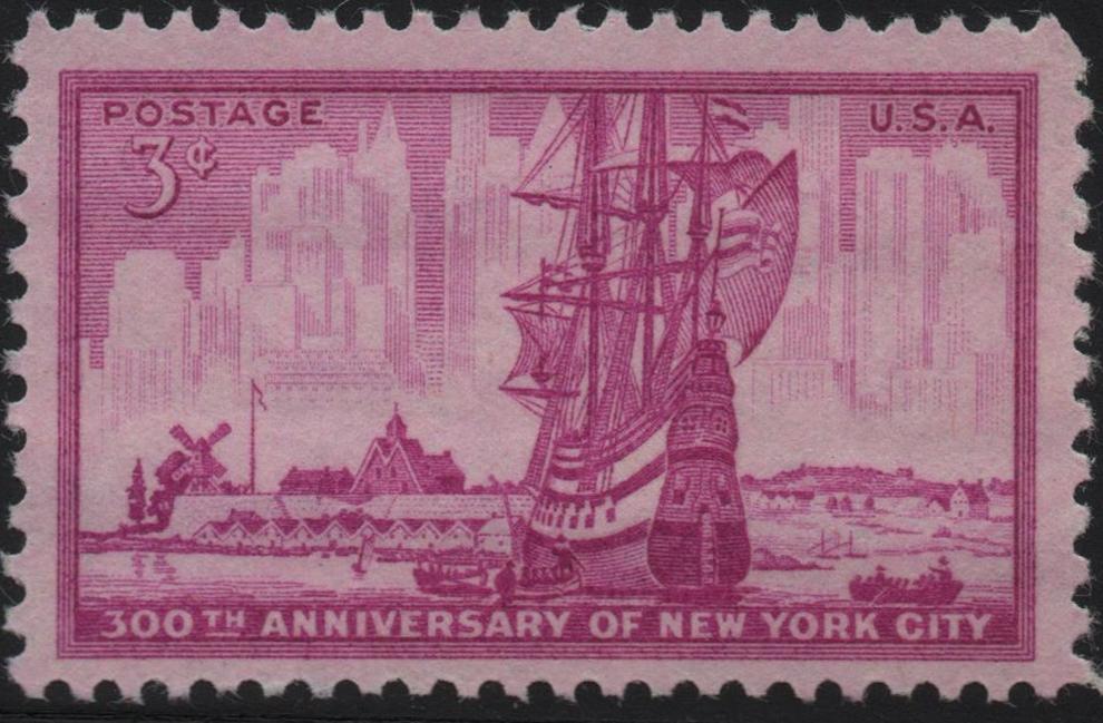United States - Scott #1027 (1953)
