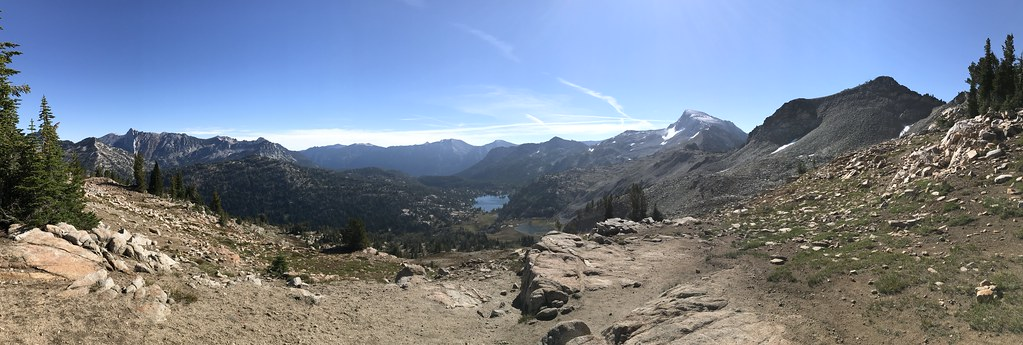 Mirror lake and Eagle Cap