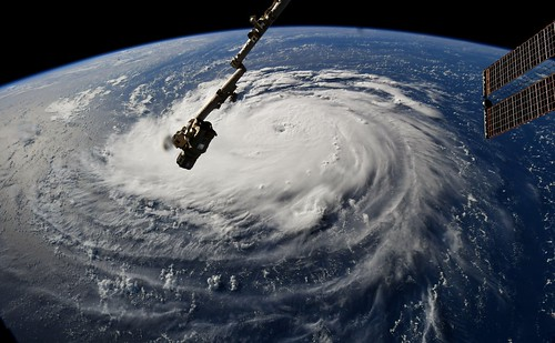 ISS Sees Florence From Space