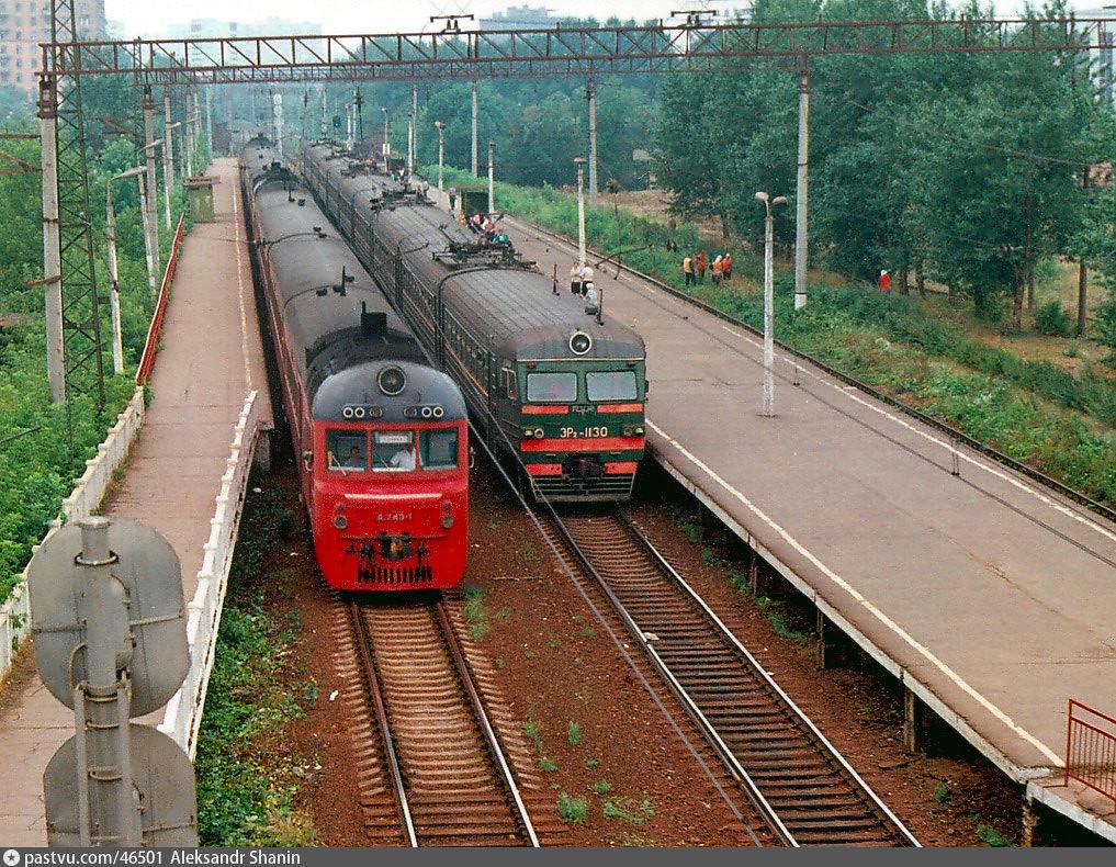 Платформа ЗИЛ и окрестности (22) Платформа ЗИЛ 1992