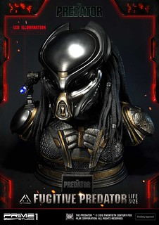 The Predator - Fugitive Predator 1:1 Bust by Prime 1 Studio