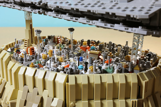 The Empire over Jedha City