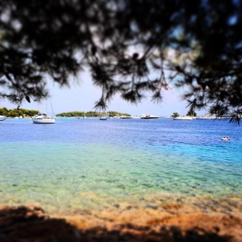 Dalmazia: laguna blu