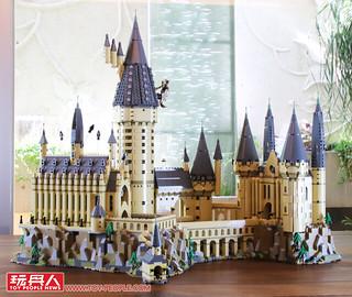 超細緻的城堡外觀、奇幻場景高度還原,實在太過癮啦~~ LEGO 71043《哈利波特》霍格華茲城堡 Hogwarts Castle 開箱報告