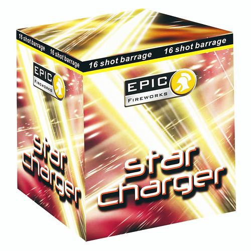 Star Charger 16 Shot Firework Cake #EpicFireworks