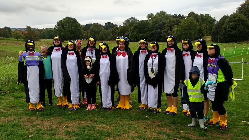 Cheltenham Parkrun 290 - Almost Penguins